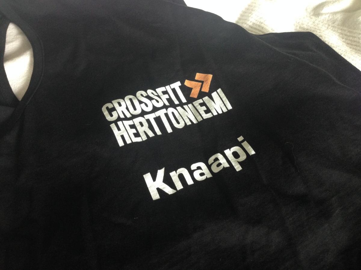 Ensimmäistä kertaa CrossFit-kisoihin