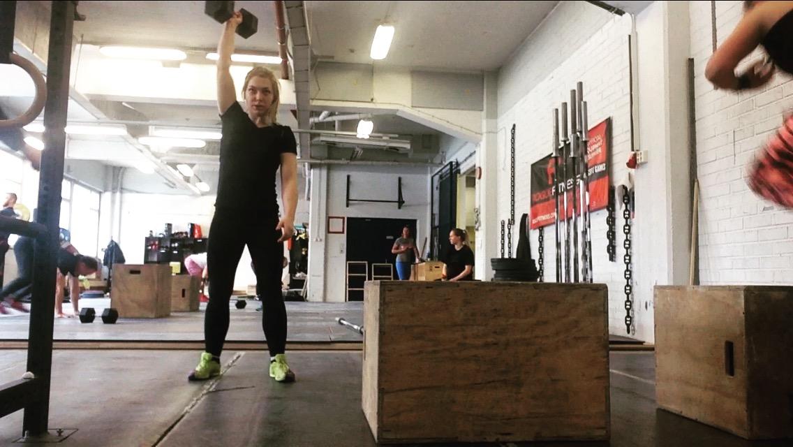 Elämäni CrossFit Openmoka!